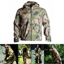 Outdoor Sport Hunting Tactical Jacket Men Waterproof Windproof Clothes  Hiking Fishing Camping Clothing Suits