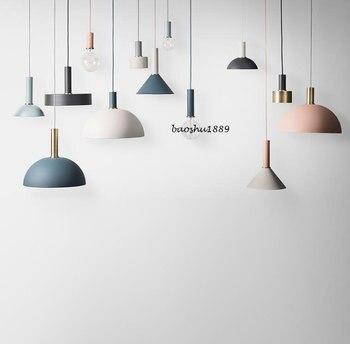 미국 국가 크리 에이 티브 나무 철 펜 던 트 조명 램프 철 금속 매달려 램프 북유럽 디자이너 빛 아트 데코 조명 abajur