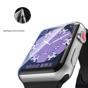 Image 5 - Suntaiho Tpu Volledige Dekking Protector Film Voor Apple Horloge 4 40/44 Screen Protector Voor I Horloge Serie 1/2/3 38/42 Mm (Geen Glas)