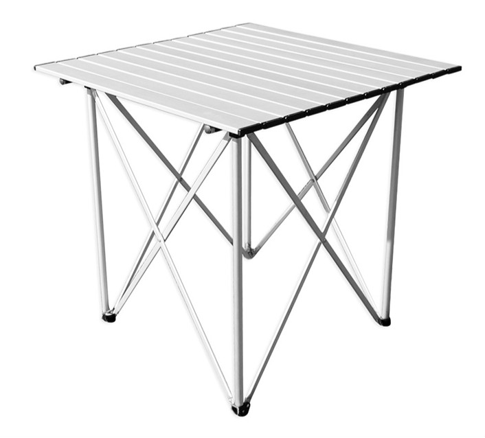 Outdoor aluminum outdoor portable folding tables and chairs tables multiplayer chess leisure camping new outdoor folding tables and chairs combination set portable lightweight for picnic bbq camping aluminum alloy easy fold up