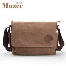 Muzee men messenger bags school canvas single shoulder bags crossbody bag  for traveling ME_8899D