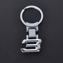 1* 3.2cm  For BMW 1 3 5 6 7 8 X Series Metal Alloy CarChain Key Holder Ring 2016 zinc alloy car logo key chain key chain key ring for bmw x 1 3 5 6 7 8 key holder free shipping