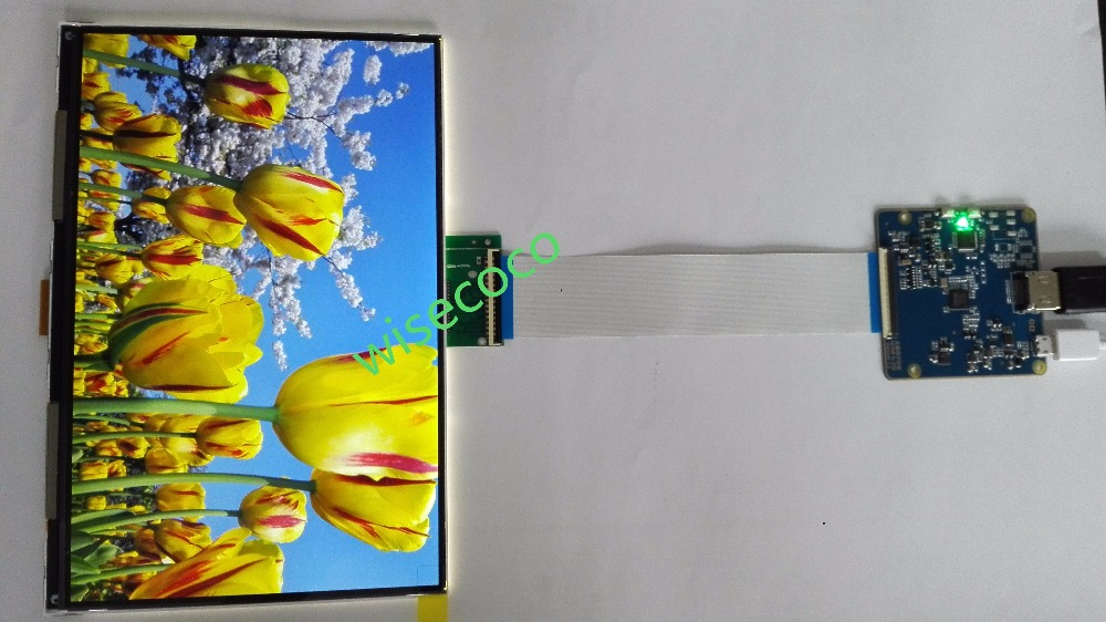 Hdmi to mipi Drive board 8.9 2k FHD IPS TFT lcd panel display 5sets/lot ...