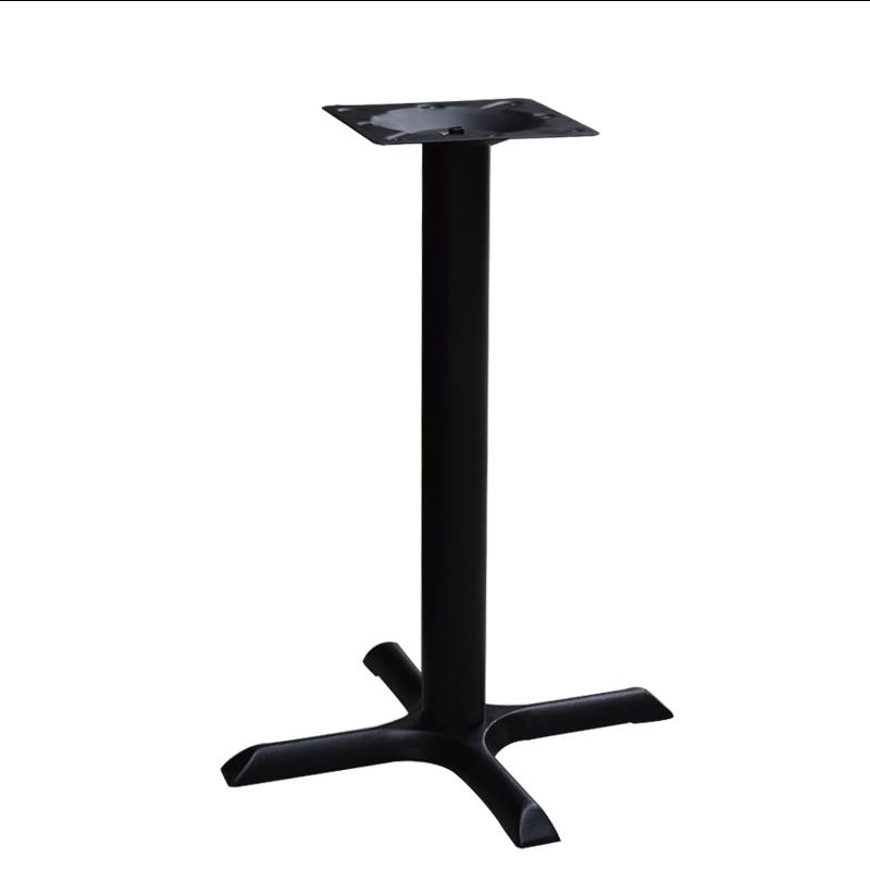 Cast iron table leg holder black dining table stand custom cast iron table leg holder black dining table stand custom restaurant coffee shop table support frame cross base bracket in furniture accessories from watchthetrailerfo
