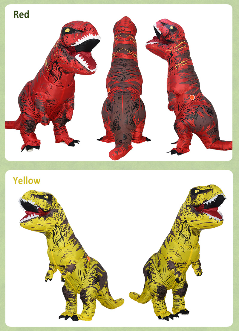 inflatable dinosaur costume-17