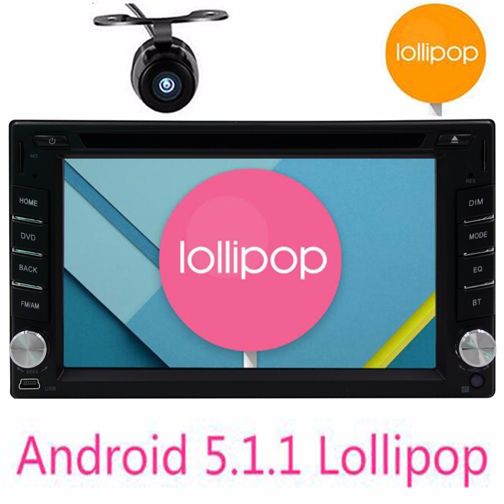 Double 2Din Android 5 1 1 Car dvd font b radio b font GPS Navigation player