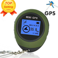 Mini GPS Tracker Tracking Device Travel Portable Keychain Locator Pathfinding Motorcycle Vehicle Outdoor Sport Handheld Keychain