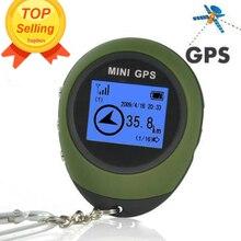 Mini GPS Tracker Seguimiento de Dispositivos de Viaje Protable Llavero Localizador Pathfinding Deporte Al Aire Libre Portátil Llavero