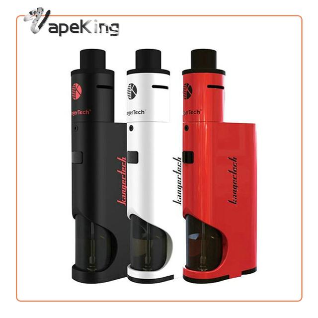 Kangertech Dripbox + 60 W Starter Kit de cigarrillo electrónico 7 ML Tanque Vaporizador Con 0.2ohm Subdrip Goteo Bobina Vs Subox Topbox Mini Kit