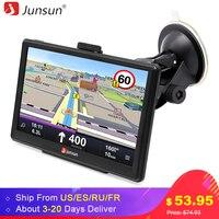 Junsun 7 Inch Car GPS Navigation FM MP3 MP4 Players North America Map Free Upgrade Truck