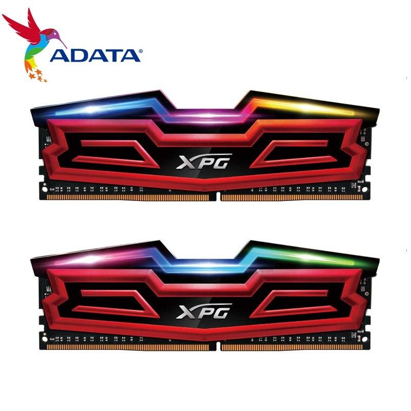 ADATA Nouveau XPG D40 RAM 16g Double 8g 3200 mhz PC3-17000 Modules de Mémoire De Bureau PC Mémoire DDR4 16 gb Double 8g