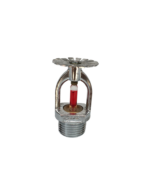 US $4 4 |ZX15 fire sprinkler head 68 degrees up and down spray pattern  nozzle upright pendulous glass bulb sprinklers-in Garden Sprinklers from  Home &
