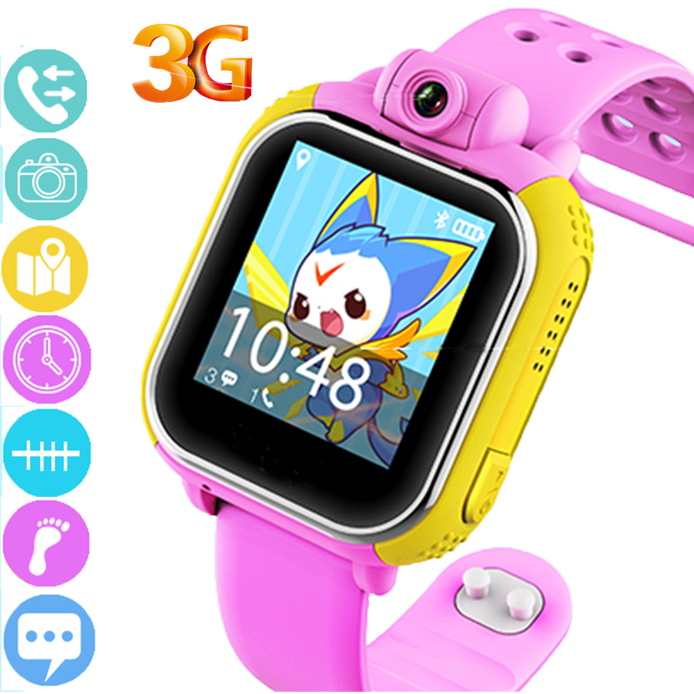Smart Watch Kids with Camera 3G Smartwatch for kids GPS