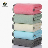 SexeMara Brand 70 140cm Bath Towels 100 Cotton For Adults Thick Beach Towel Bathroom Outdoor Travel