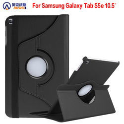 360 stopni obracanie etui do Samsung Galaxy Tab S5e pokrywa dla Galaxy Tab 10.5 2019 SM-T720 T725 stojak PU skóra Funda Capa