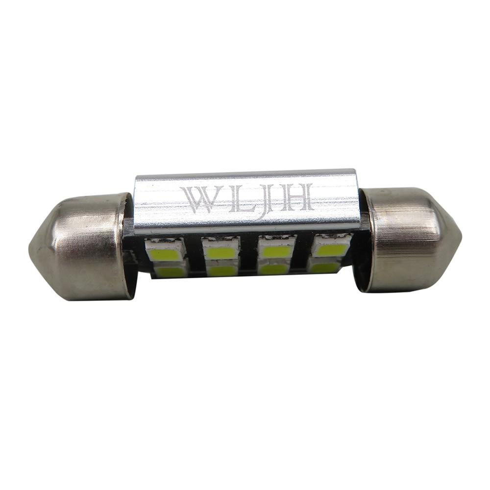 WLJH 12x čisto bijelo Canbus ogledalo LED dioda za unutarnju - Svjetla automobila - Foto 2