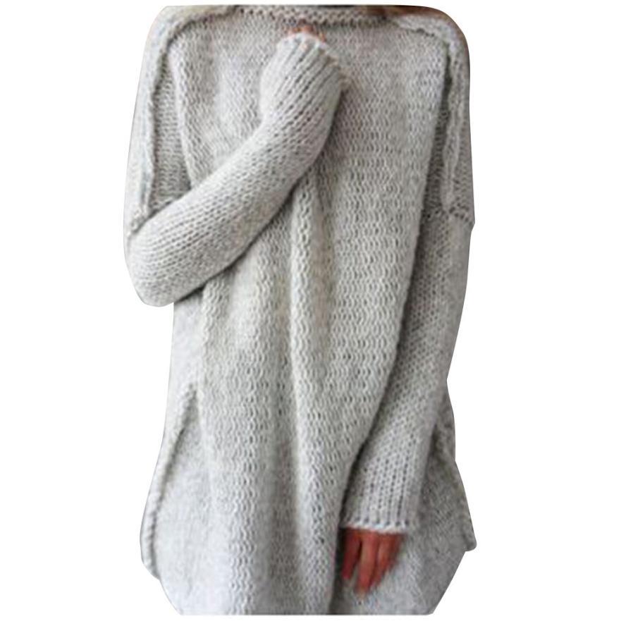 Nueva Moda Estilo Sólido Mujeres Sueltan de Manga Larga Collar de la Bufanda de