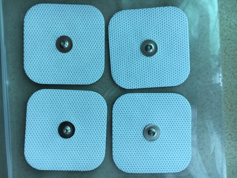 Image 3 - 40pcs(10sets) Self Adhesive Reusable Replacement Electrode pads for TENS/EMS Compex snap Wireless Muscle Stimulators 3.9mm Stud-in Massage & Relaxation from Beauty & Health
