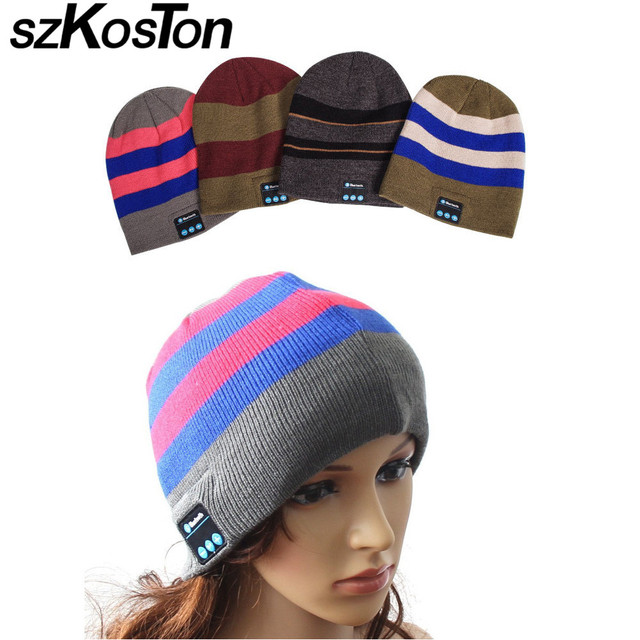 Wireless Bluetooth HeadSET Sport Music hat Smart HeadsetS Warm Outdoor winter Cap With Microphone For Cell For xiaomi yi&man