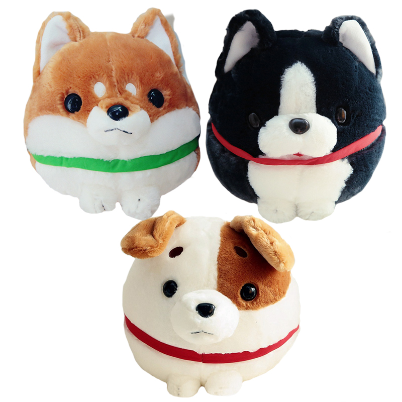30cm Cute Plush Shiba Jack Russell Terrier Boston Dog Plush Animal Doll Toy Kids Gift shiba inu dog japanese doll toy doge dog plush cute cosplay gift 25cm