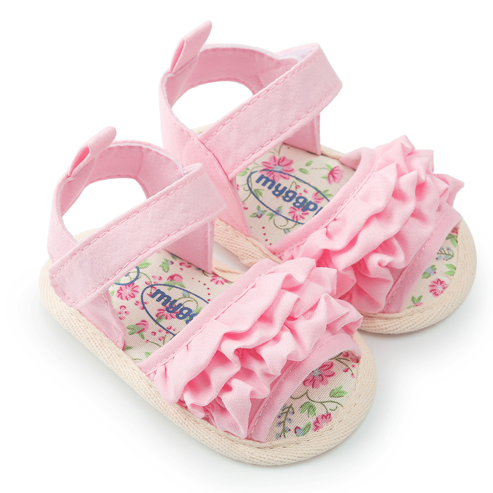 New Summer Hot Selling Baby Flower Shoe Casual Shoes Sneaker Anti-slip Soft Sole Toddler Clogs Shoes  6.1