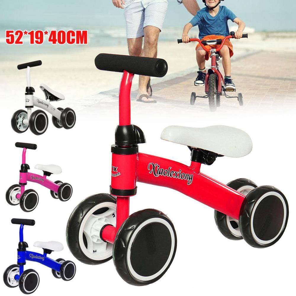 Bébé Balance vélo apprendre à marcher obtenir l'équilibre sens pas de pédale équitation jouets pour enfants bébé enfant en bas âge 1-3 ans enfant Tricycle vélo