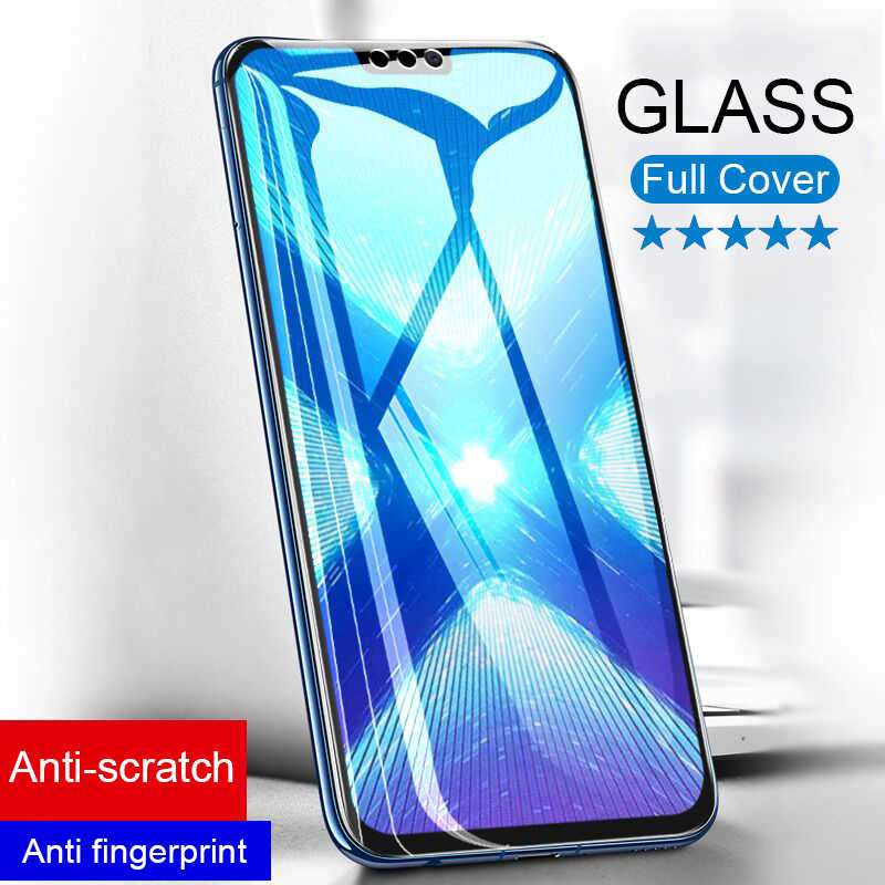 Screen Tempered Glass on the For Huawei Honor 10 8x Max Protective Glass Cover For Huawei Honor 7a 8x 8 9 Lite Protector Glass