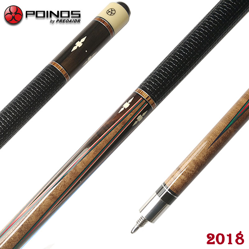 New Handmade Pool Cue Pool Stick Ergonomic Design Hardwood Canadian Maple Billiard Cue DK 11.5mm/13mm Tip Billiard Stick China fury new 1 2 handmade pool cue stick with case ergonomic design hardwood canadian maple billiard cue kit 11 75mm 13mm tip pool