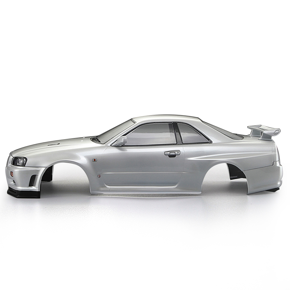 RC Car Body Shell 48644 257mm for NISSAN SKYLINE R34 Finished Case Frame 1 10 Electric