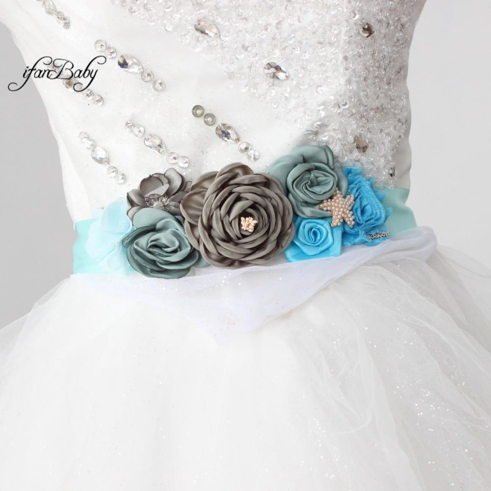 women belt flower sash belt (4)