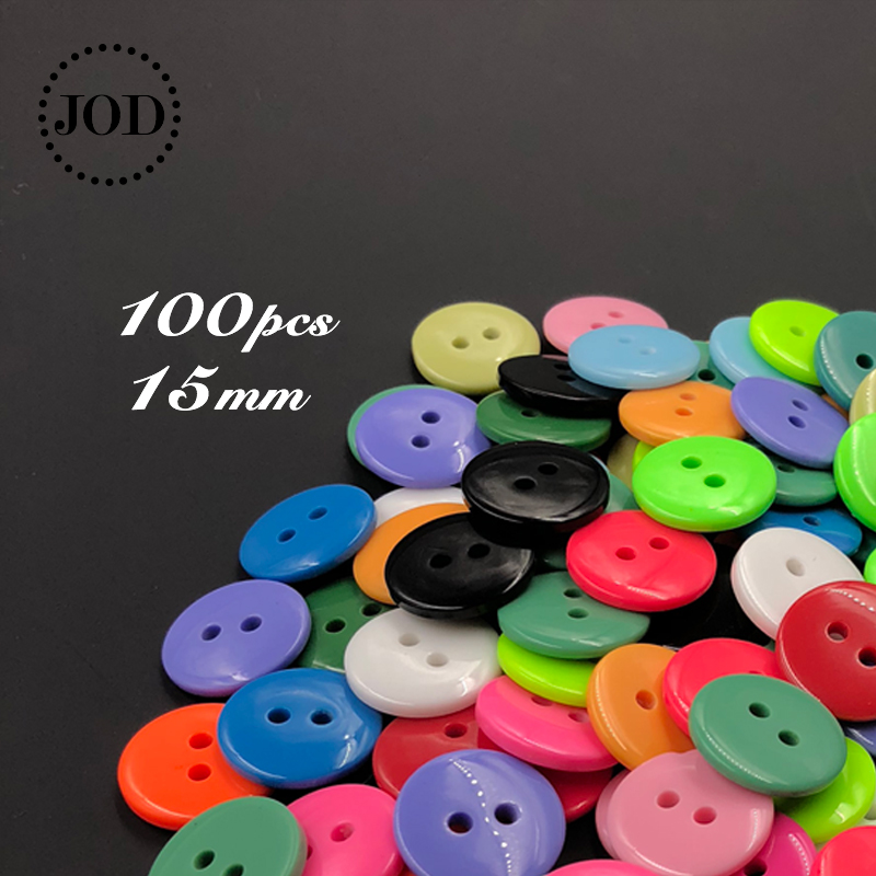 Resin Boys Buttons Sewing Knitting Accessories Crafts 10 Blue Buttons 15mm