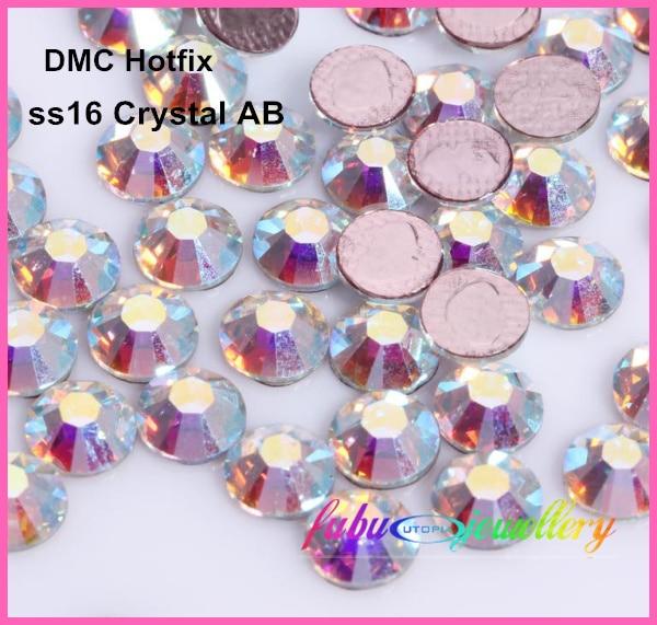 288 шт./лот, ss30(6,3-6,5 мм) Высокое качество DMC синий Капри клейкие Стразы/Стразы горячего крепления