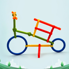 Youwant Toy 130Pcs DIY Educational Brain Toys Creative Toy Building Blocks ABS Material For Children Smart Toy