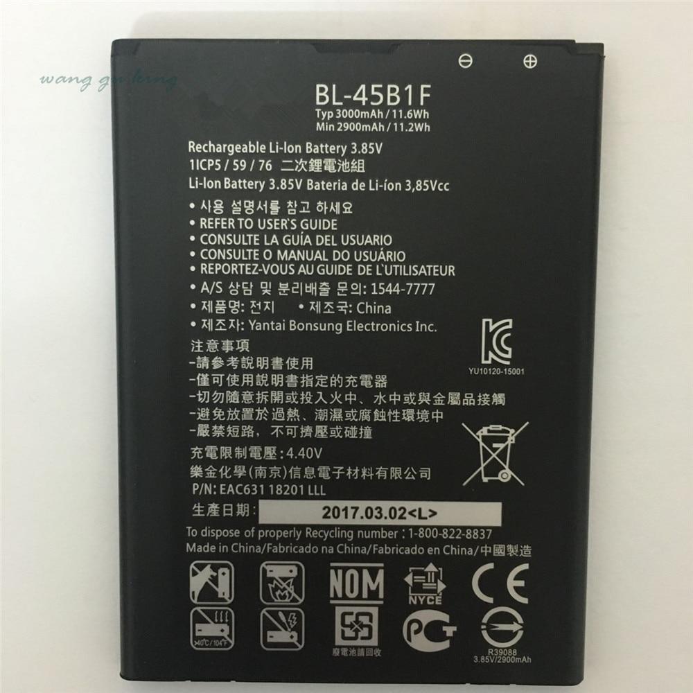 New Original BL-45B1F <font><b>Battery</b></font> For <font><b>LG</b></font> <font><b>V10</b></font> H968 H961 BAK-110 F600 BL 45B1F H901 H900 3000mAh