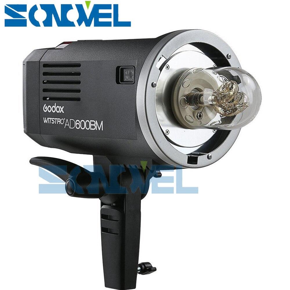 Livraison DHL Godox AD600BM 600 W HSS GN87 Bowens lumière Flash + émetteur de X1T-C pour Canon Eos 77D 7D 6D 5D Mark IV + cadeau gratuit - 2
