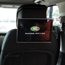 Android Headrest Car Monitor Rear Seat Entertainment For Land Rover Discovery Sport Evoque Freelander 2PCS Screen