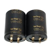 2pcs original nichicon Super Through 22000uf/80v KG series audio capacitor super capacitor electrolytic capacitors free shipping конденсатор nichicon kg super through 16v 4700uf