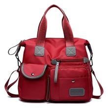 Mode étanche femmes Nylon Oxford sac à main dames sac fourre tout décontracté en Nylon sac à bandoulière momie sac grande capacité toile sac