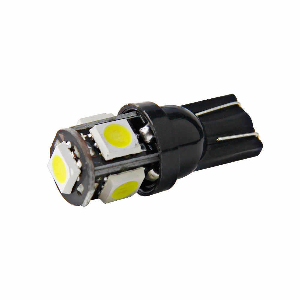 1pc 5 SMD 0.5W Wafer 5 Side  3 Chip 5050 High Brightness Automobile Bulb car led lights daytime running For bmw bau15s #5