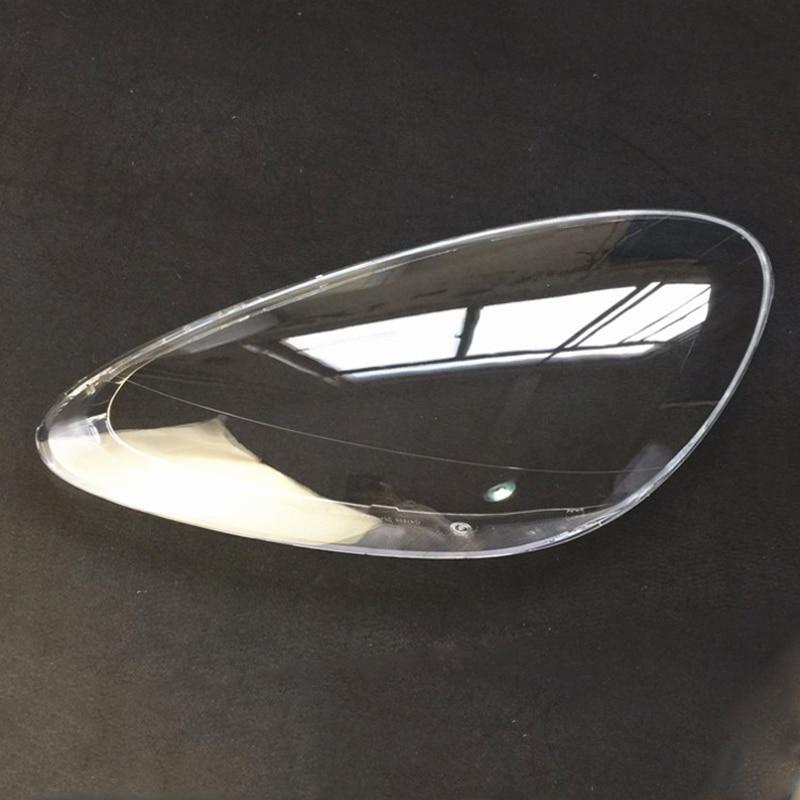 Abat jour phare abat jour lampe plastique cache lampe housse de protection pour Porsche Cayenne habillage capot voiture