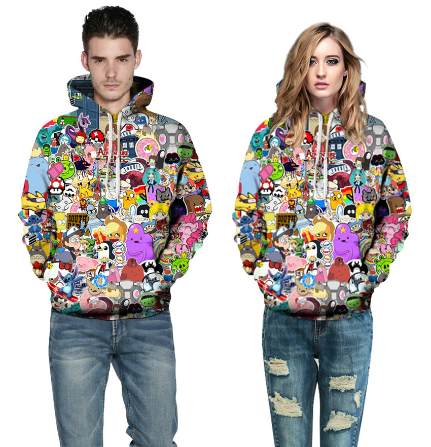 geekoplanet.com - The Anime Hoodies
