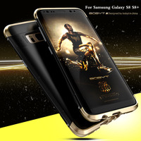 For Samsung Galaxy S8 S8 Plus Case Luxury 360 Full Protection 3in1 Aluminum Metal PC Hard