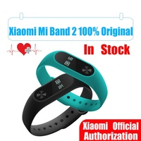 In Stock Original Xiaomi Mi Band 2 Miband Wristband Bracelet With Smart Heart Rate Fitness OLED