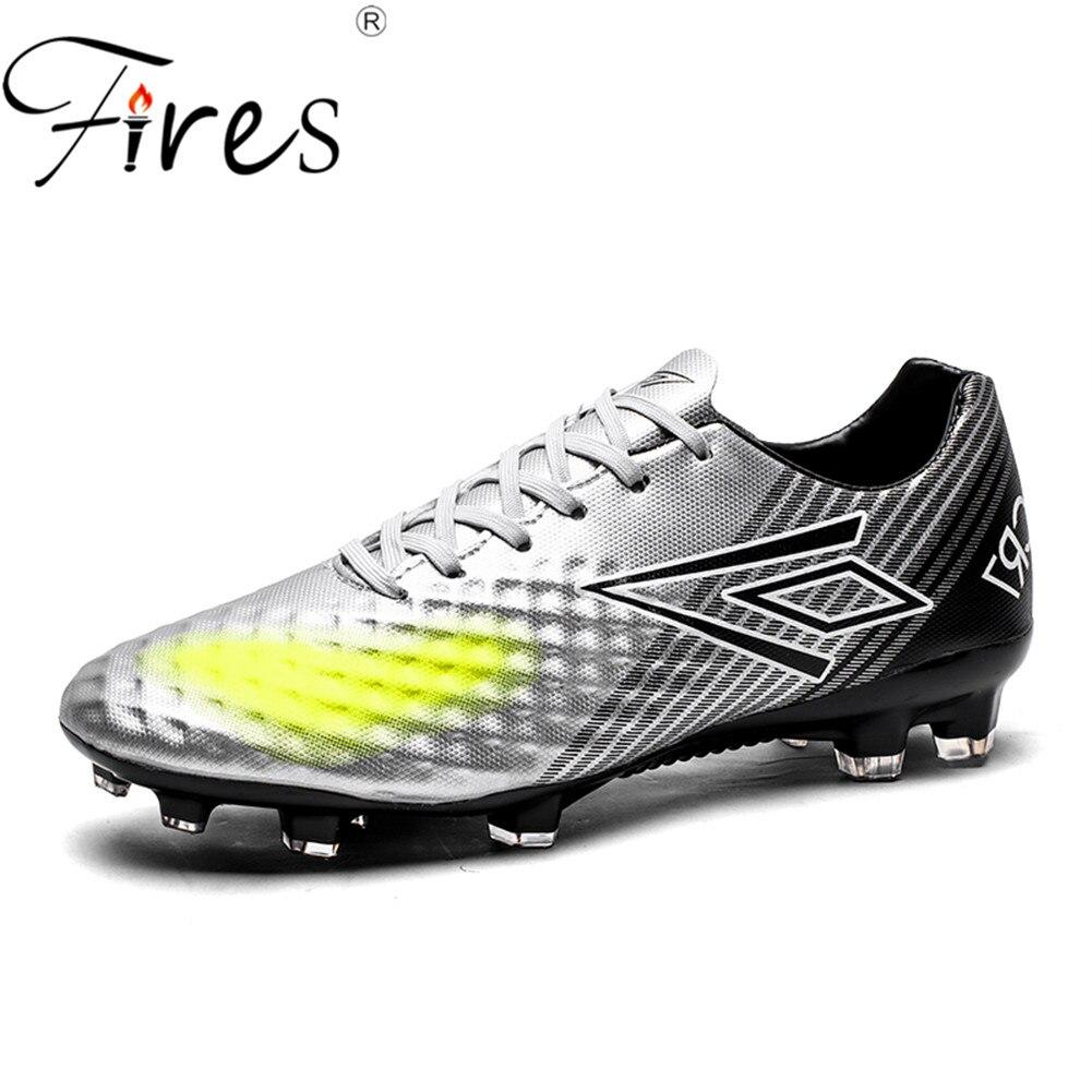 Fires hombre de fútbol marca deporte al aire libre zapatos de fútbol pico  para los hombres al aire libre botas de fútbol masculino zapatos Trainning  en ... 2b51875ee8b9d