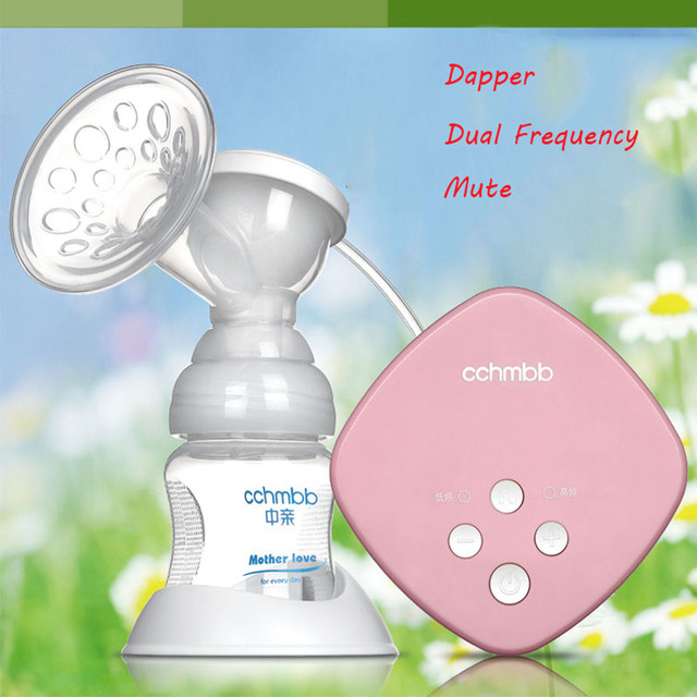 New manufacturer direct low price Pink USB Breast pump milk Powerful Nipple Suction Breast bottle feeding Electric Breast Pumps