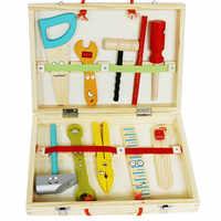 Nouveau jouet en bois jouets éducatifs en bois outil ensemble bébé jouet livraison gratuite