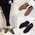 2017 весной новой Корейской версии департамента матовое кожи обувь подошвы подошвы осенью темперамент с низким туфли на высоком каблуке