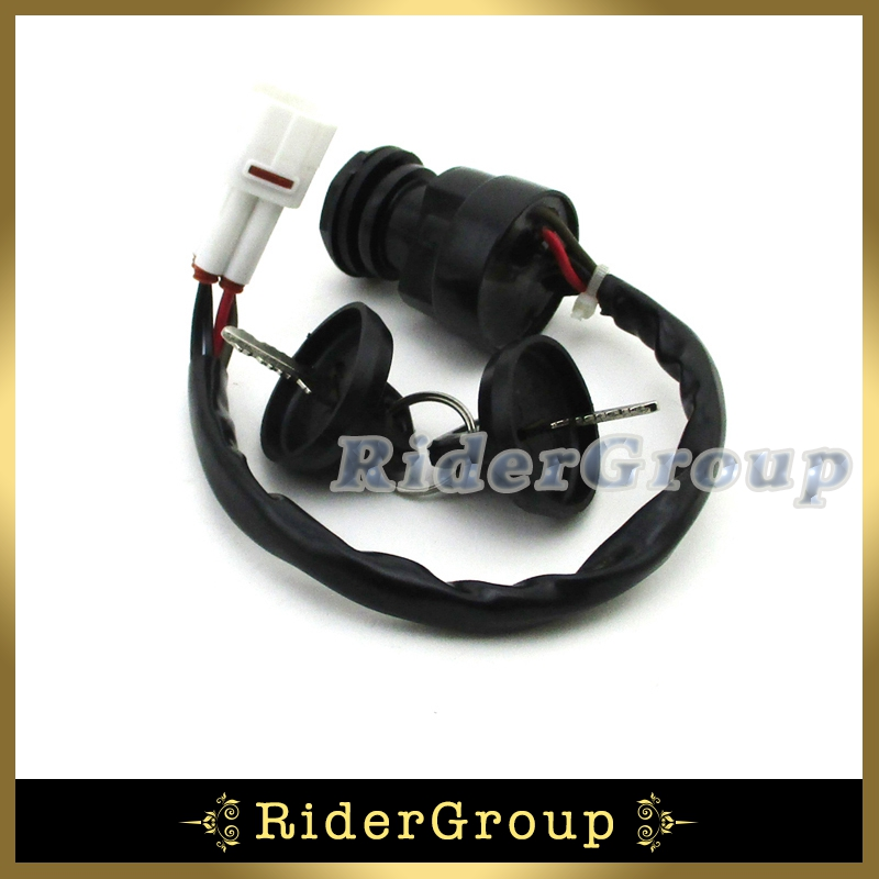 Ignition Key Switch 4 Pin Wire For Yamaha Yfm350 Bear Tracker Yfm250 Atv Quad 4 Wheeler Warrior