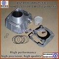 O envio gratuito de alto desempenho de alta precisão de alta qualidade para HONDA moto 52.4mm SDH125-51/51A CBF125 kit cilindro