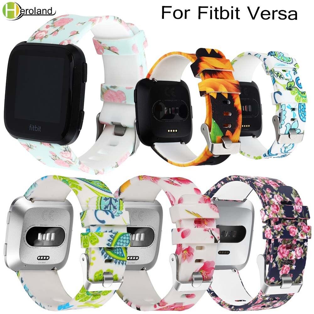 2018 Watch band New Fashion Smart Wrist Strap For Fitbit Versa Wristband Band Bracelet